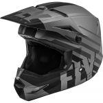 Fly Racing Kinetic Thrive Matte Dark Grey/Black шлем внедорожный