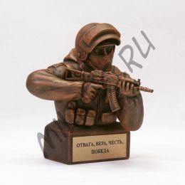 Вежливые люди (боец спецназа с АКСУ)