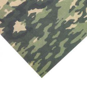 Бумага этиклейки с клеевым слоем «Милитари», 30,5 × 32 см, 250 г/м
