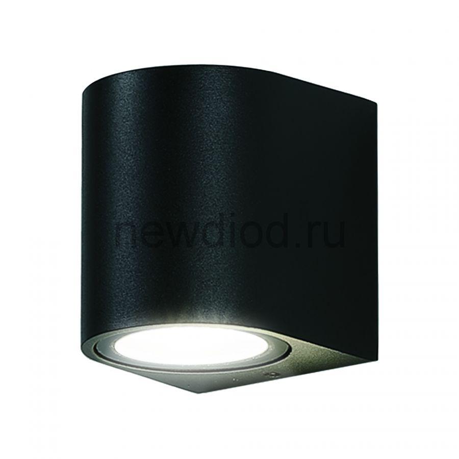 Светильник сд уличный ULU-S04A-5W-4000K IP54 BLACK архитектурный накладной корпус черный TM Uniel