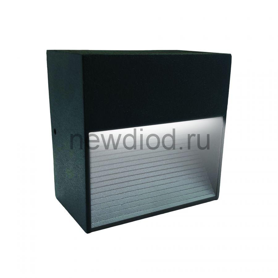 Светильник сд уличный ULU-S03A-3W-4000K IP54 BLACK архитектурный накладной корпус черный TM Uniel