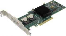 Контроллер LSI MegaRAID SAS 9240-8i  LSI00200  (RTL)  PCI-Ex8, 8-port SAS / SATA 6Gb / s RAID 0 / 1 / 5 / 10 / 50