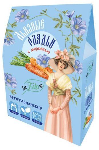 Льняные оладьи с морковью вегетарианские 250 г