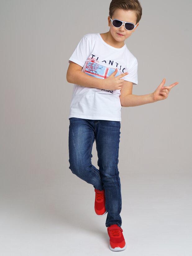 брюки джинс (текстиль) для мальчиков