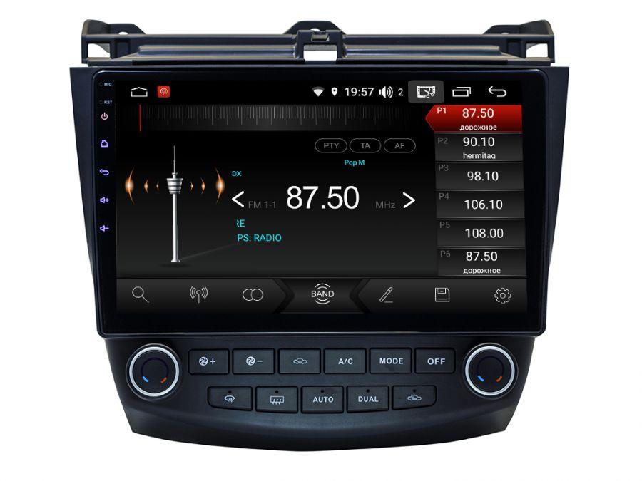 Магнитола для Honda Accord 7 (2002-2008) 10HL