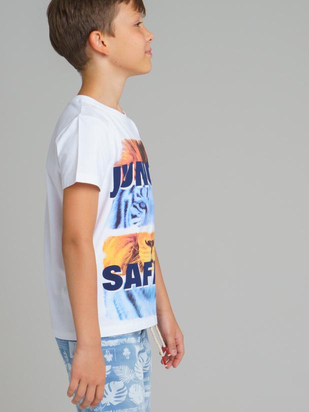 футболка короткий рукав (кроеный трикотаж) для мальчиков