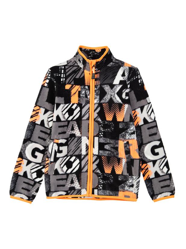куртка флис (кроеный трикотаж) для мальчиков