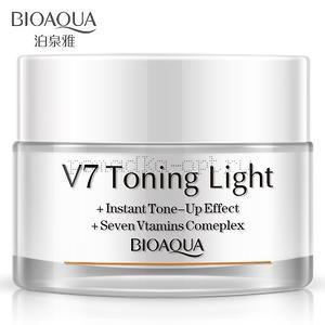 ОРИГИНАЛ Мультифункциональный дневной крем «BIOAQUA» V7 Toning Light