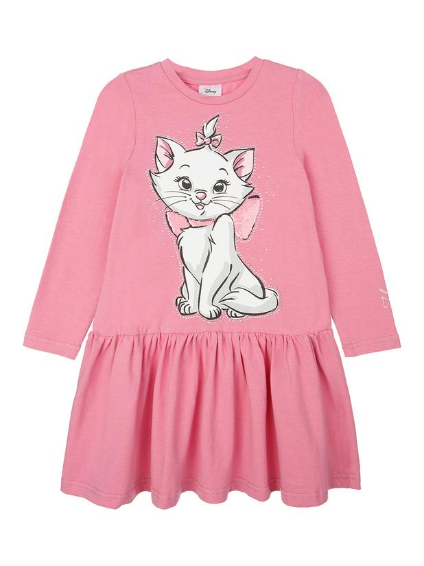 Платье (кроеный трикотаж) для девочек
