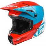 Fly Racing Kinetic Streigt Edge Red/White/Blue шлем внедорожный