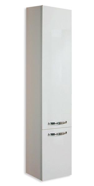 Шкаф-пенал подвесной Акватон Ария М (1A124403AA010) белый