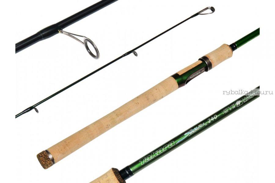 Спиннинг Takara Silk Rod 2,4 м / тест 10-50 гр/ Im8
