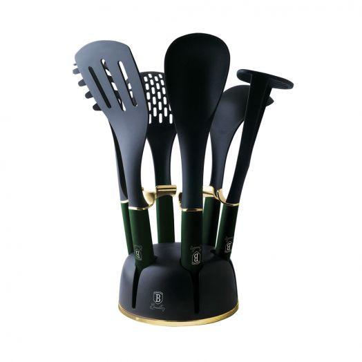 BH-6243 Emerald Collection Набор кухонных принадлежностей 7пр.