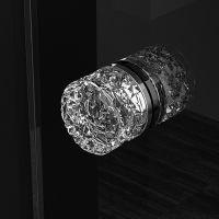 Мебельная ручку Glass Design Mirage. хром/прозрачный кристалл