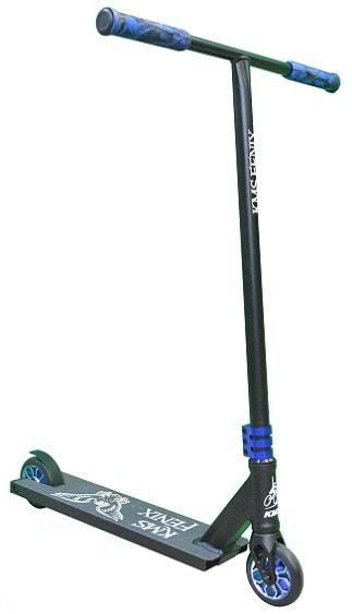 Самокат KMS SK-418 Fenix Al 110мм синий