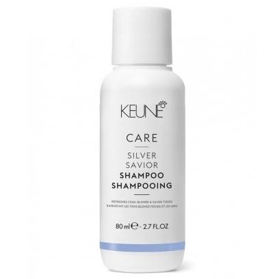 Keune Шампунь Сильвер/ CARE Silver Savor Shampoo, 80 мл.