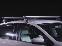 Багажник на крышу Hyundai Solaris (c 2017г, sedan), Евродеталь, крыловидные дуги