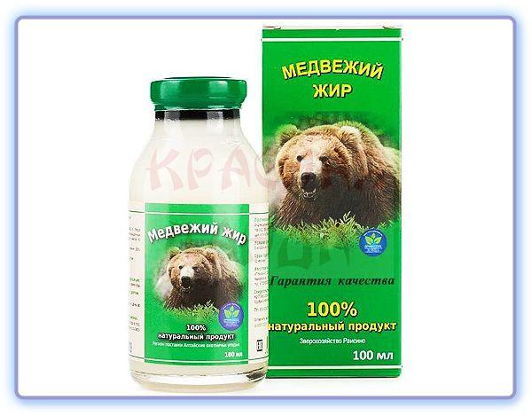 Медвежий жир 100 мл Белов