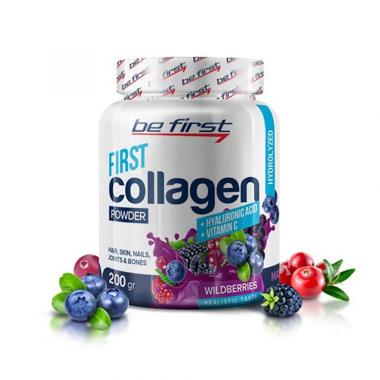 BeFirst Collagen Hyaluronic Acid + Vitamin C 200g