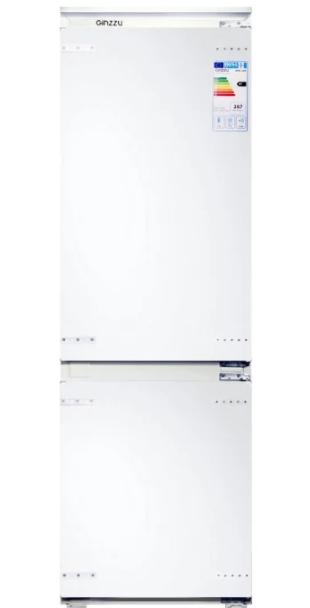 Встраиваемый холодильник GINZZU NFK-245 Белый