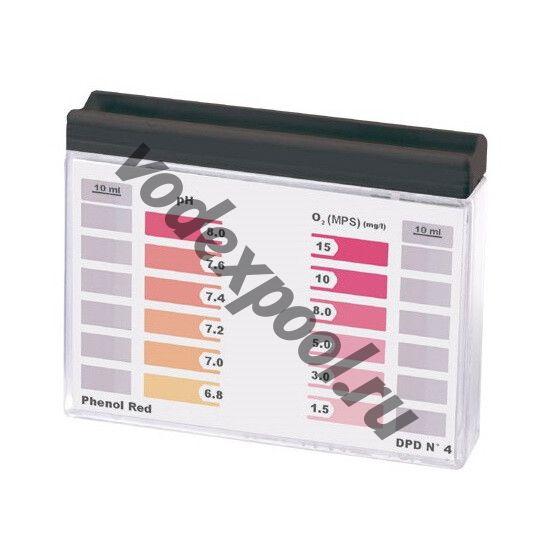 Тестер AquaDoctor Water-id Таблеточный для PH/O2 (20/20)