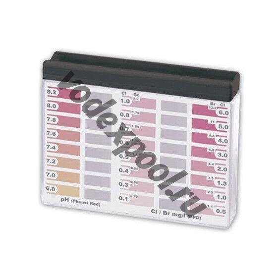 Тестер Water-id таблеточный для PH/CL/BR (20/20)