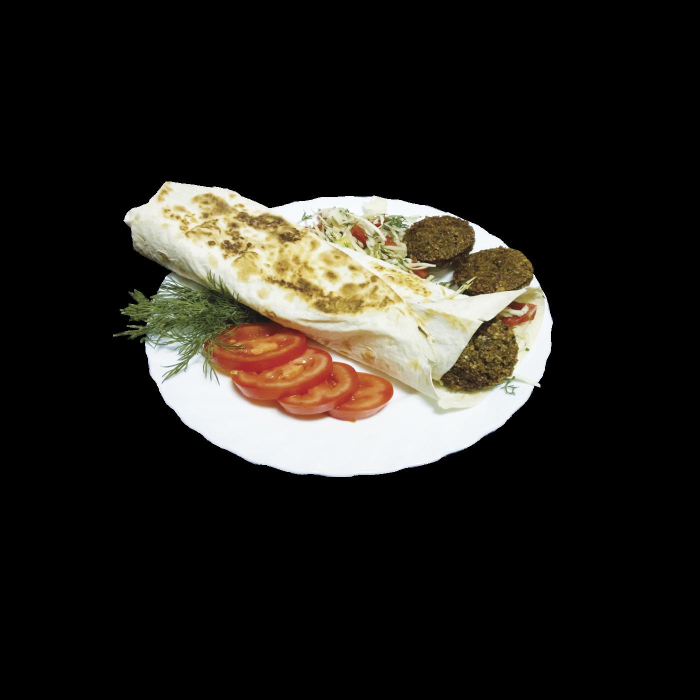 Фалафель в лаваше (вегетарианская)