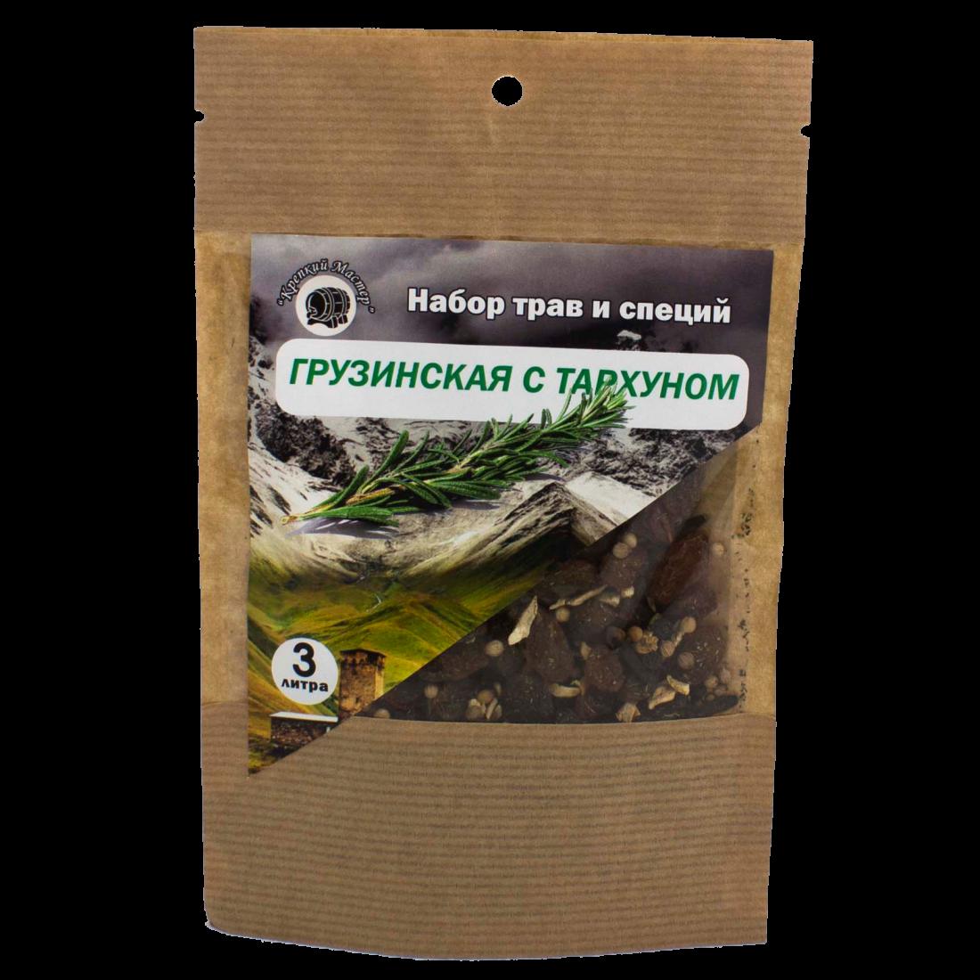 """Набор для настойки """"Грузинская с тархуном"""", на 3 литра (КМ)"""