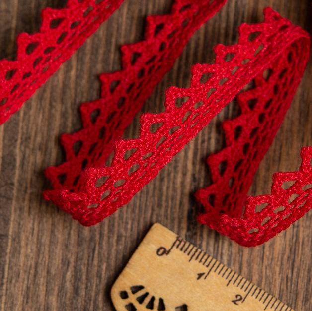 Кружево вязаное KRUZHEVO  ширина 10 мм. (TBY-5036)