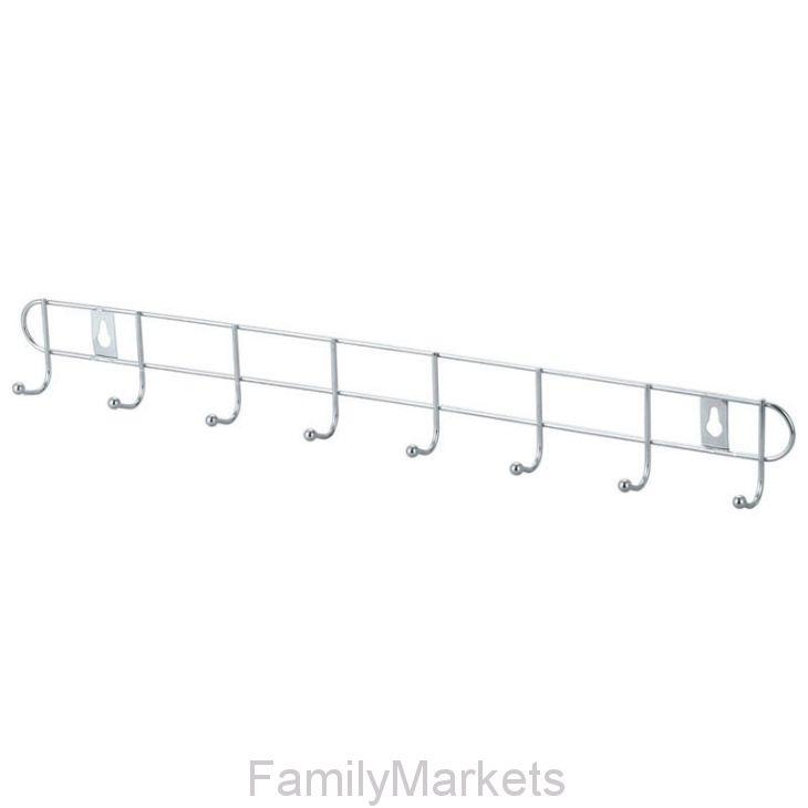 Металлическая вешалка-планка с крючками Hanger