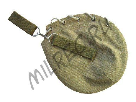 Чехол для алюминиевой фляги со шнуровкой образца 1937 года. (реплика)