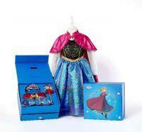 Платье Анны Холодное сердце в подарочной коробке с аксессуарами купить