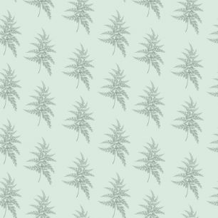 Хлопок Перкаль Зеленый папоротник 50х37