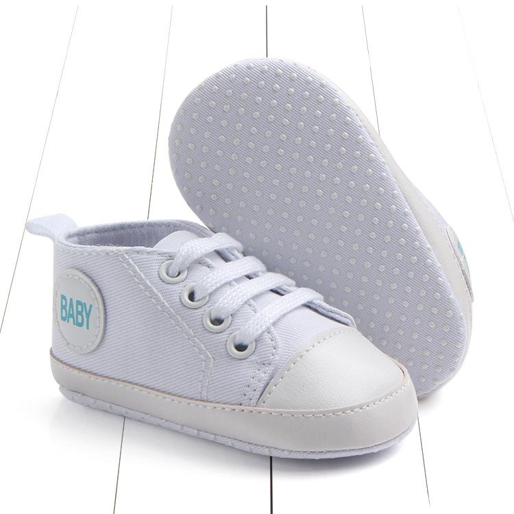 Кеды на шнурках белые 11 см
