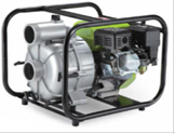 Мотопомпа бензиновая Кратон GTWP-80, для грязной воды