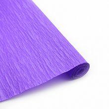 Бумага гофрированная Фиолетовая / рулон, 0,5/2 м, Китай