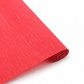 Бумага гофрированная Красная / рулон, 0,5/2 м, Китай