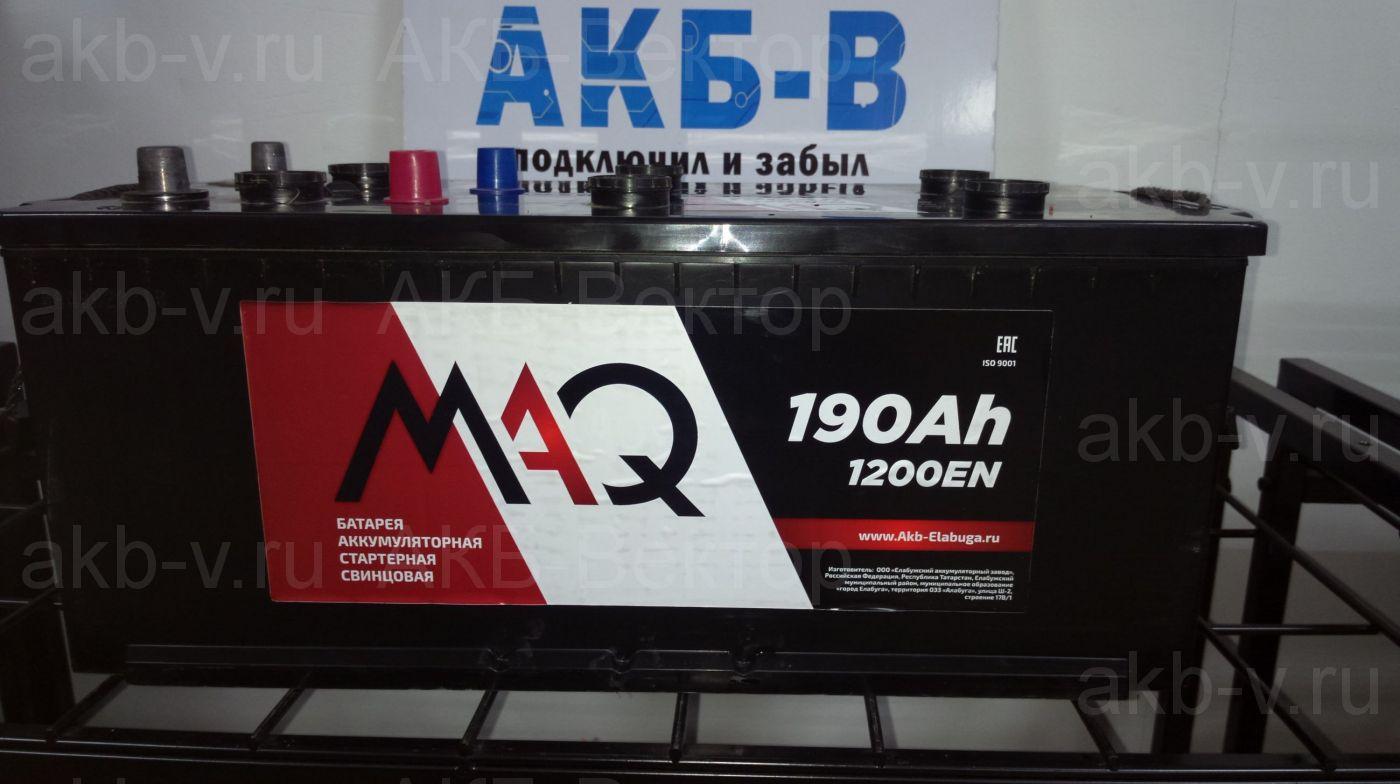 Maq 190Ач 1200А(EN)