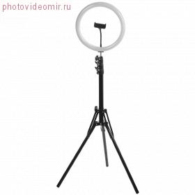 FJL-RING12 Кольцевой осветитель с креплением для смартфона + стойка