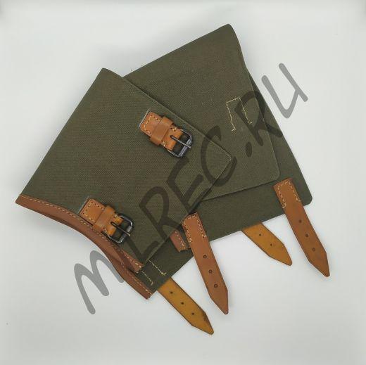 Гамаши (гетры) пехотные Вермахт (копия), ранние коричневая кожа