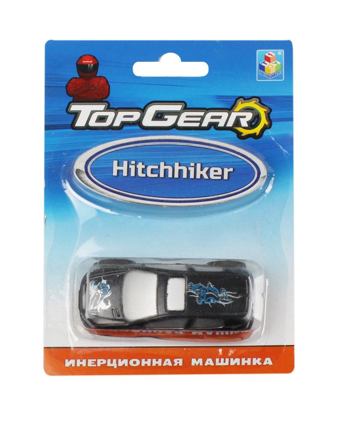 1toy Top Gear пласт. машинка Hitchhiker, инерц. блистер