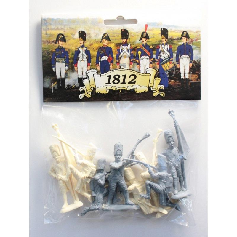 Набор БИПЛАНТ 12022 Армия 1812 года БОПП