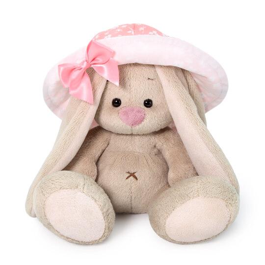 Мягкая игрушка BUDI BASA SidX-378 Зайка Ми в розовой панаме 15 см