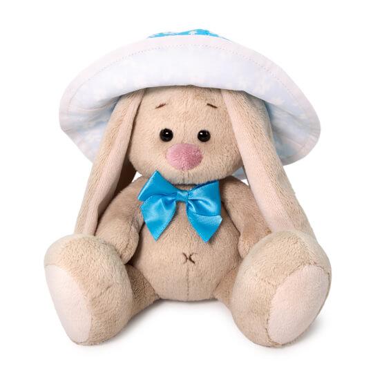 Мягкая игрушка BUDI BASA SidX-379 Зайка Ми в голубой панаме 15 см