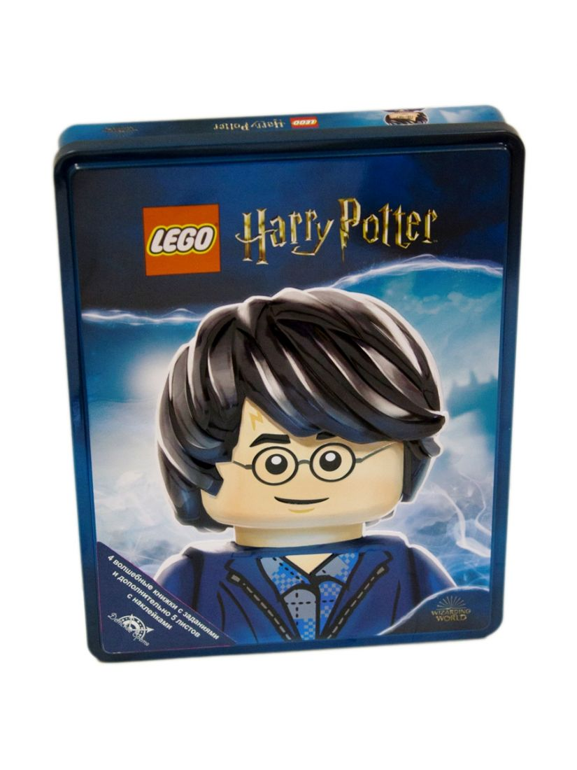Комплект книг LEGO TIN-6401A Harry Potter 4 шт.