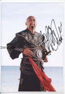 Автограф: Чоу Юнь-Фат. Пираты Карибского моря: На краю Света