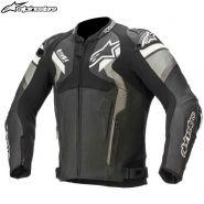 Мотокуртка Alpinestars Atem V4, Черно-серо-белый