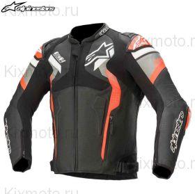 Куртка Alpinestars Atem V4, Чёрно-серо-красная