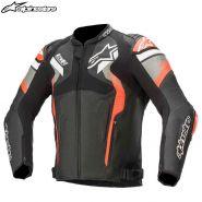 Мотокуртка Alpinestars Atem V4, Черно-серо-красный