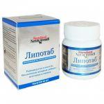 Таблетки для нормализации уровня холестерина в крови Lipotab,60 таб